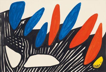 Alexander Calder, 'Dolmens', 1971