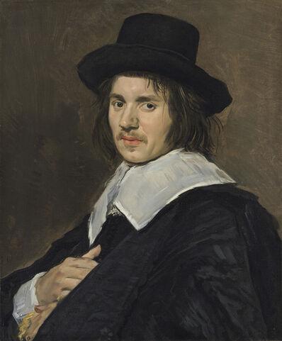 Frans Hals, 'Portrait of a Man', 1648/1650