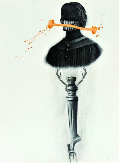 José D'Apice, 'Autoritratto dopo', 2008