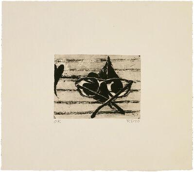 Richard Diebenkorn, 'Untitled (Gantt Print)', 1991