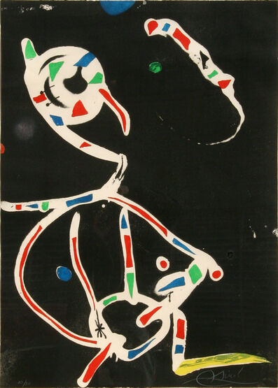 Joan Miró, 'La Traca III (Fireworks)', 1979