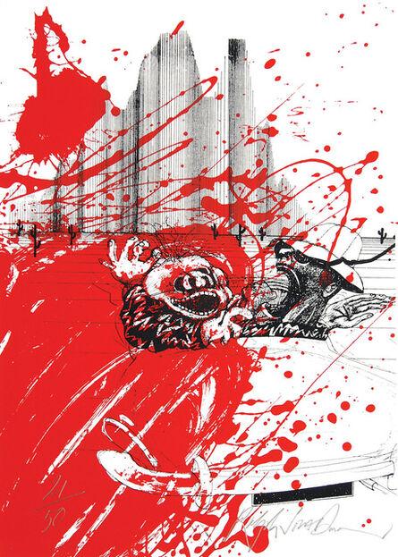 Ralph Steadman, 'Red Shark', 1999