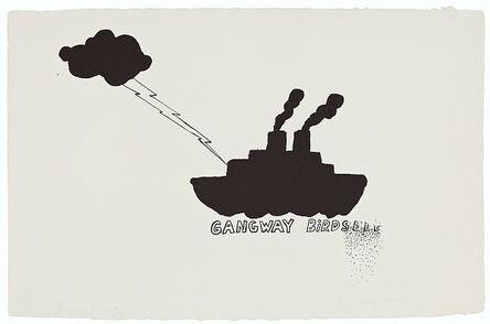 Jim Dine, 'Gangway birdseed', 1970