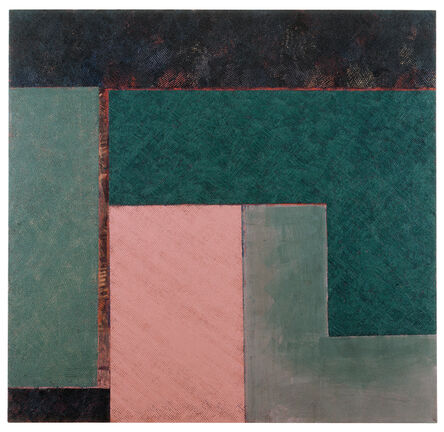 Alan Green, 'Two Angles Three Rectangles To Top', 1993