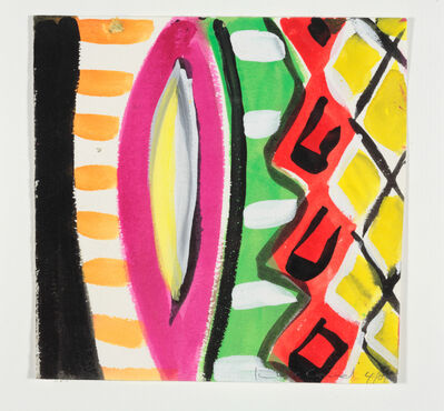Kim MacConnel, 'Woman with Mirror. (Canvas #11)', 2007