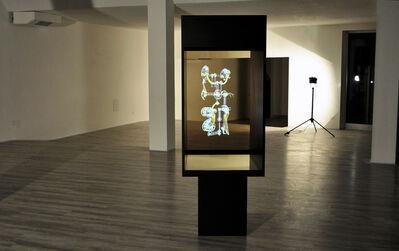 Christian Zanotto, 'AKTOR - HOLOGRAPHIC THECA', (2014 > Animated virtual sculpture sequence AKTOR)