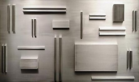 Arthur Carter, 'Aluminum Elements Spaced According to Fibonacci', 2008