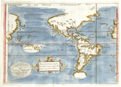 'Descripción de las Yndias Ocidentales (Overview of the Ocidental Indies)'