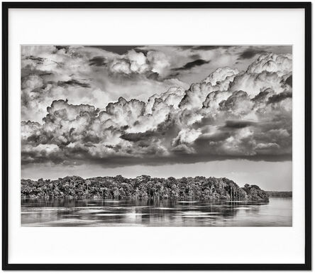 Sebastião Salgado, 'Sebastião Salgado. Amazônia. Limited & Signed Black and White Fine Art Print (301-400) 'The Paraná connecting the Rio Negro with the Cuyuní River'', 2019 (Book 2021)
