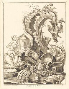 Antoine Aveline, 'l'Officieux Valet', 1736