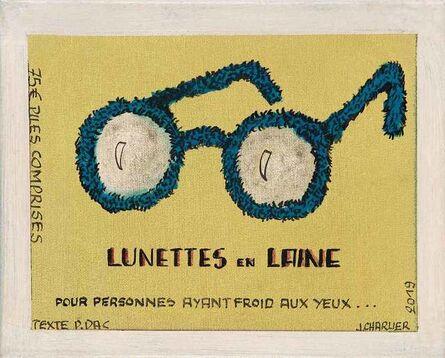 Jacques Charlier, 'Lunettes en laine', 2019