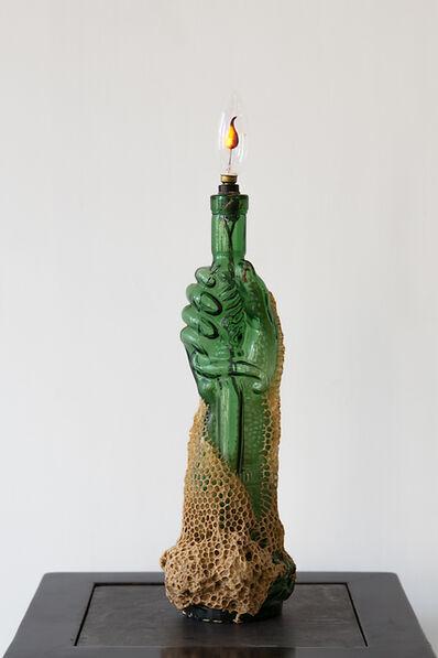 Aganetha Dyck, 'Green Hand', 2010-2011