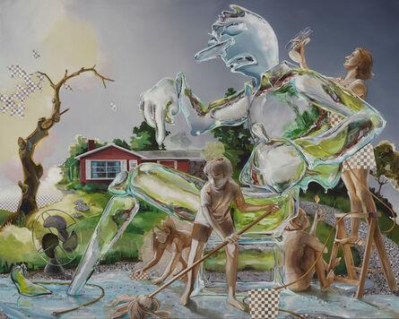 Margaret Curtis, 'The Ice Sculpture', 2020