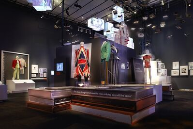 David Bowie, 'Installation view: Area 9 – Collaboration Non-Musical'