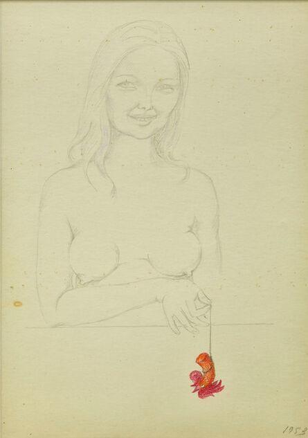 Maria Pinińska-Bereś, 'Woman and him... (Kobieta i on...)', 1953
