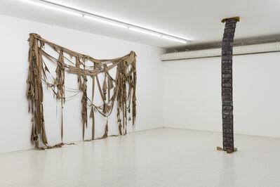 Elisabetta Benassi, 'Exhibition view - fabric scraps and Infinity', 2017
