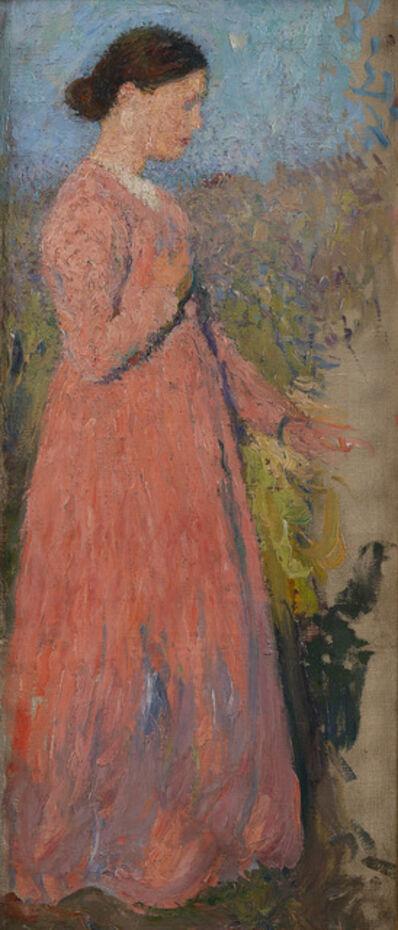 Henri Martin, 'Femme en rose', 1910-1911