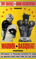 Jean-Michel Basquiat, 'Warhol Basquiat Boxing Poster 1985 (Warhol Basquiat collaborations at Tony Shafrazi)', 1985