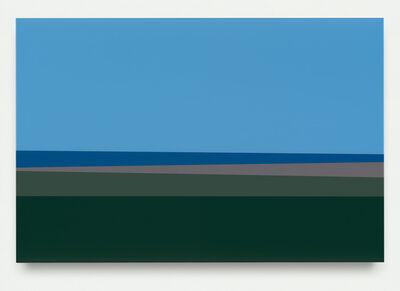 Julian Opie, 'Plain 3', 2017