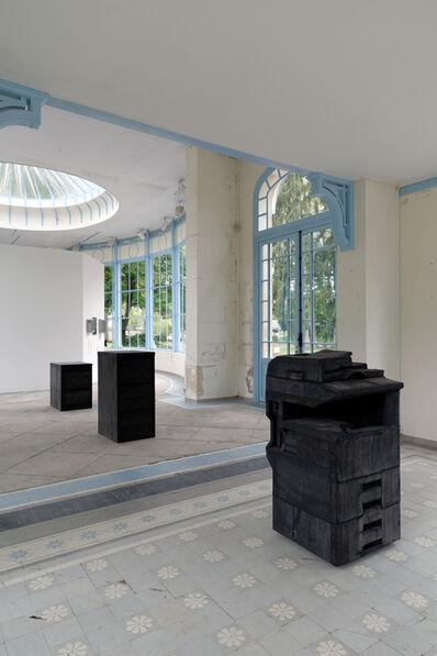 Gabriel Kuri, 'bottled water branded water', 2013