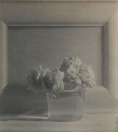 Adolf de Meyer, 'Roses in Vase', ca. 1911