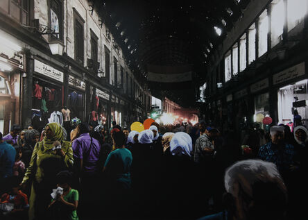 Luke Cornish (ELK), 'Al-Hamidiyah 2', 2017