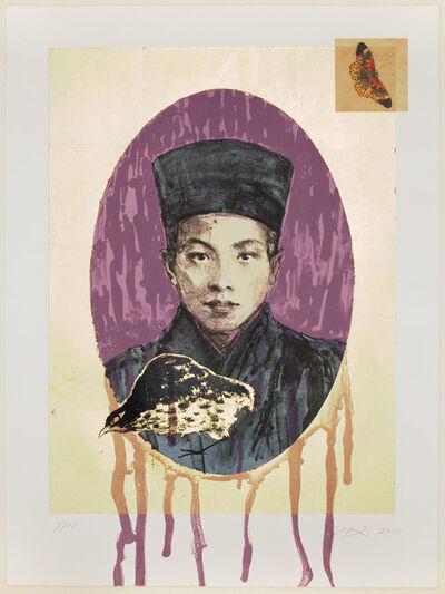 Hung Liu 刘虹, 'Butterfly Dreams: Purple Nun', 2011