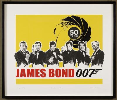 James Hart Dyke, 'Everything or Nothing – 50 Years of James Bond: Yellow ', 2012