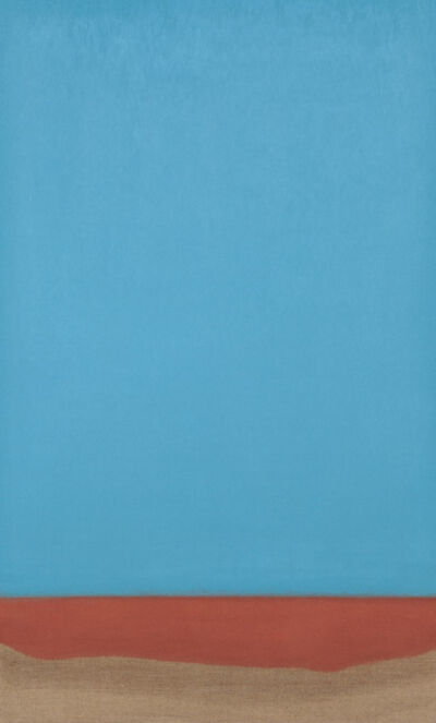 Susan Vecsey, 'Untitled (Blue/Copper)', 2017