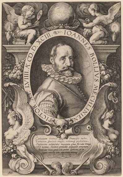 Hendrik Goltzius, 'Hans Bol', 1593