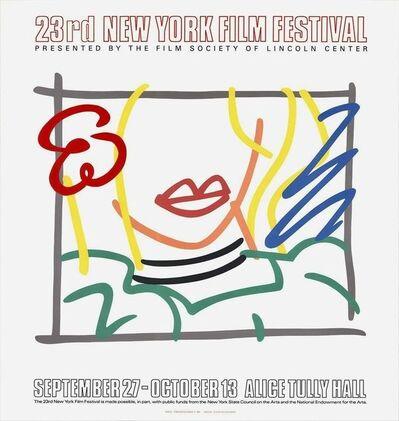 Tom Wesselmann, 'Monica, Lincoln Center 23rd New York Film Festival 1985', 1985