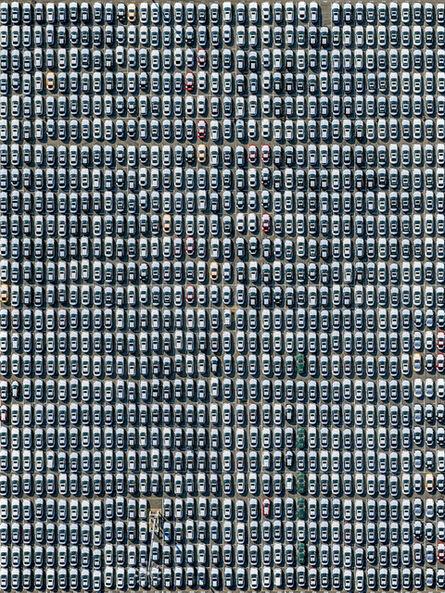 Jeffrey Milstein, 'Toyotas Port of Long Beach', 2016