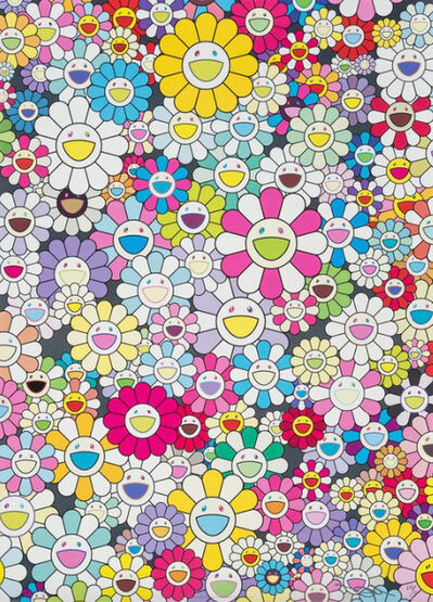 Takashi Murakami, 'Shangri-La Shangri-La Multicolor', 2013