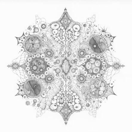 """Michiyo Ihara, 'Snowflakes #125 """"Oneness""""', 2015"""