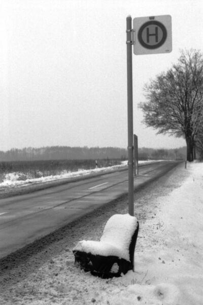 Gundula Friese, 'On the street in Mecklenburg', 1988