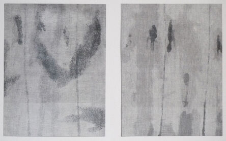 Rebecca Salter PRA, 'Grisaille Series 1 and 2', 2016