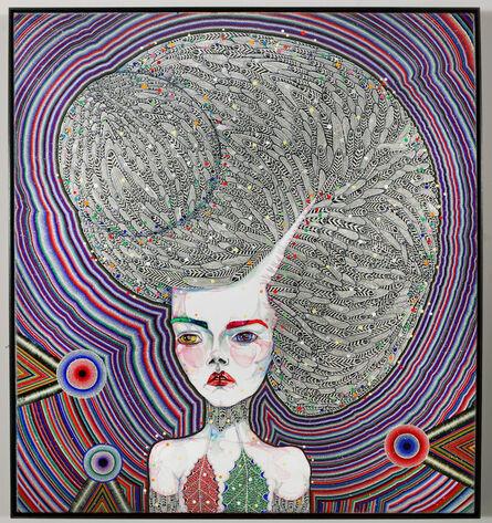 Del Kathryn Barton, 'the human dress', 2013