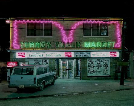 Jim Dow, 'Zummo's Market, Airline Highway, Metarie, Louisiana', 1979