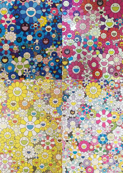 Takashi Murakami, 'An Homage Set D', 2012
