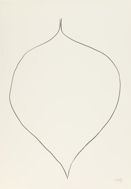 Ellsworth Kelly, 'Catalpa Leaf', 1965-1966