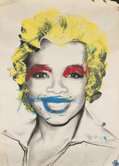 Mr. Brainwash, 'Oprah (Marilyn Monroe), Blue Lips'