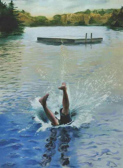 Kay Bradner, 'Diving', 2011