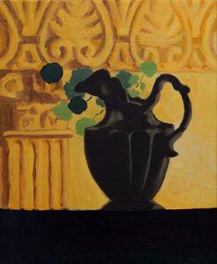 Nils Benson, 'Nasturtium And Vase', 2021