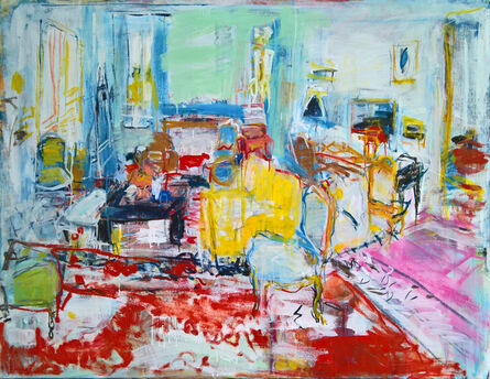 Brigitte Chombart de Lauwe, 'The drawing room VI', 2017