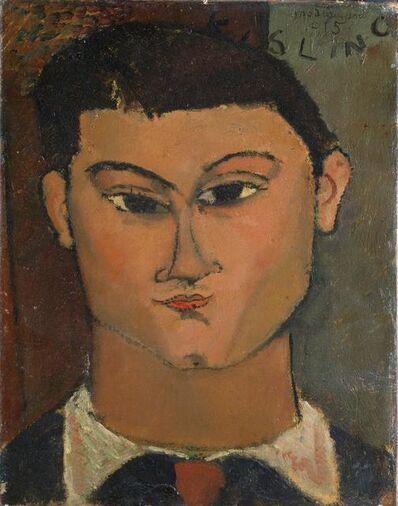 Amedeo Modigliani, 'Portrait of the Painter Moisè Kisling', 1915