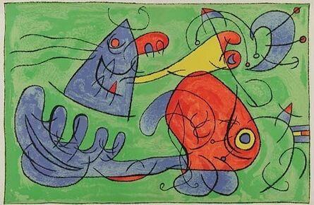 Joan Miró, 'XII. Ubu Roi: Le Sommeil du Pere Ubu', 1966