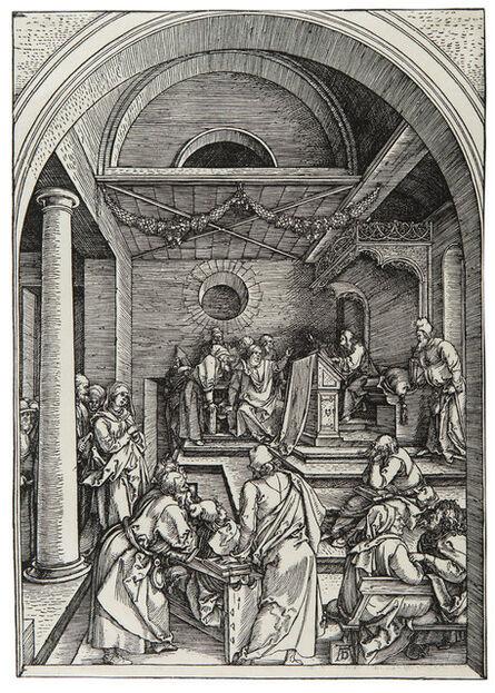 Albrecht Dürer, 'Der zwölfjährige Jesus im Tempel – Christ among the Doctors  ', ca. 1503