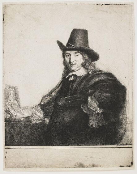 Rembrandt van Rijn, 'Jan Asselyn (Krabbeje), painter', 1647