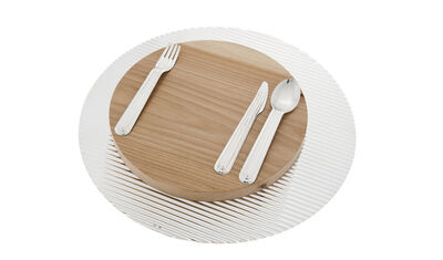 Tomás Alonso, 'Lines & waves, cutlery set', 2011