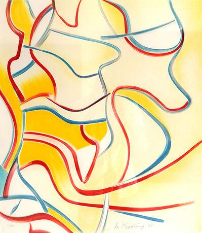 Willem de Kooning, 'Quatre Lithographies: One plate', 1986